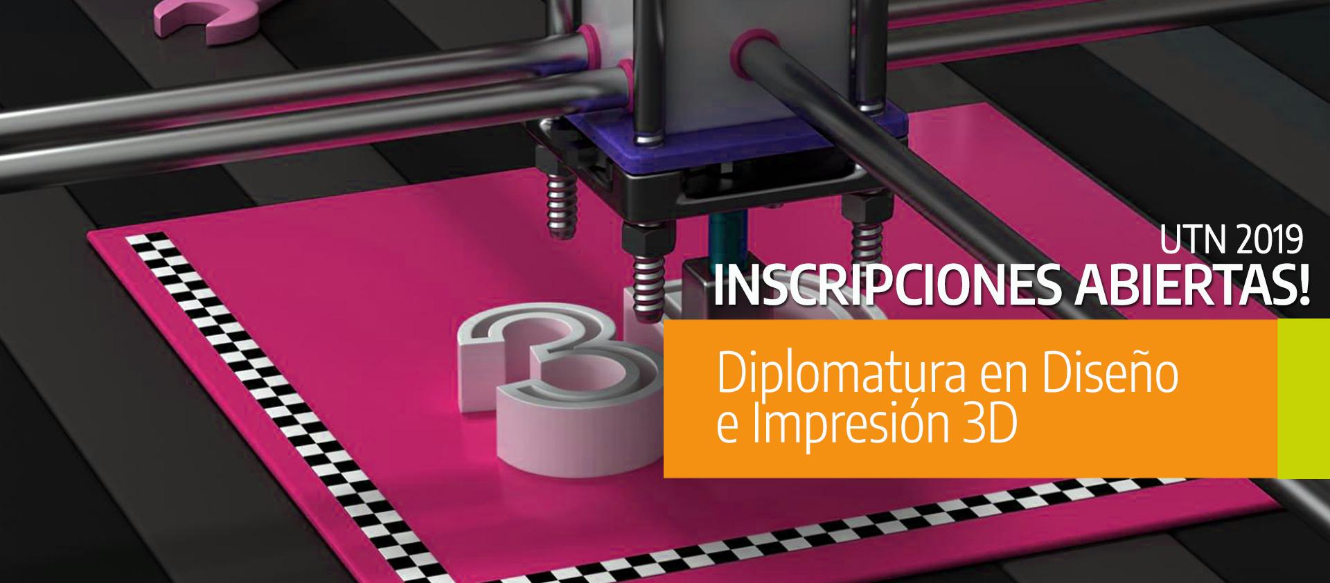 Diplomatura en Diseño e Impresión 3D