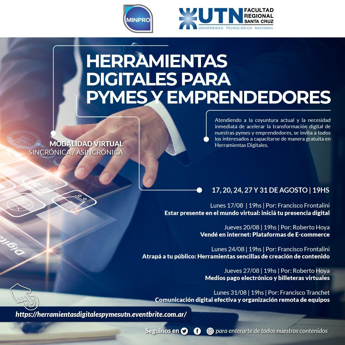 Herramientas Digitales para PYMES y Emprendedores
