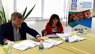 La UTN y el MinPro firmaron un convenio marco