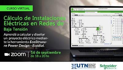 Curso Virtual «Cálculo de Instalaciones Eléctricas en Redes de Baja Tensión