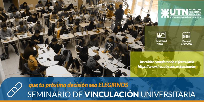 Abierta la Inscripción Al Seminario de Vinculación Universitario